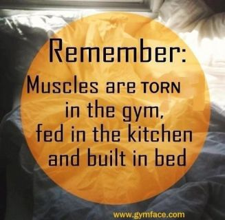 sleep and muscles